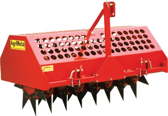 AgriMetal Turf Aerato 3 Point Hitch