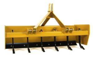 Standard Shank Box Blade Scraper With Lockable Floating Tailgate image5
