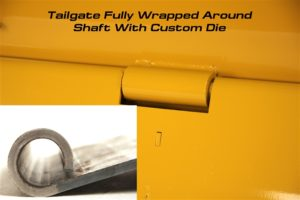 Standard Shank Box Blade Scraper With Lockable Floating Tailgate image7